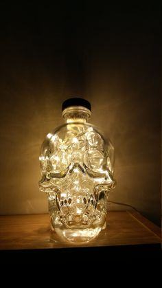 Why Buy Premium Bottle Lamps? If you love premium spirits, then our Crystal Head Vodka® bottle lamp is perfect for you. Crystal head is the