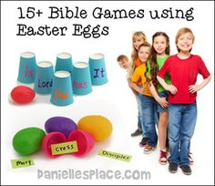 15+ Easter Games for Children's Ministry from www.daniellesplace.com