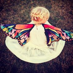 DIY wings {secretly wanting these for me }