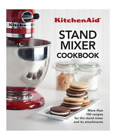 Take a look at this KitchenAid® Stand Mixer Cookbook today!