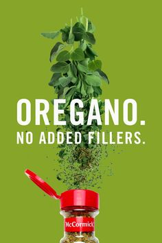 Our oregano has no added fillers, so all you taste is pure flavor. Discover why pure tastes better.