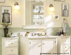 Cottage Bathroom Ideas on Vermont Cottage  New Color Ideas