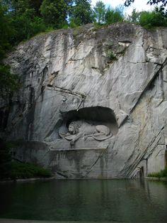 Lion Monument Day 8: Lucerne, Switzerland