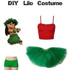 Diy lilo costume!                                                                                                                                                     More