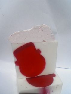 Frosty Icicles Goats Milk Soap by soapysuds.com.au for $7.00