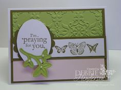Stampin' Up! Blessings From Heaven by Debbie Henderson, Debbie's Designs