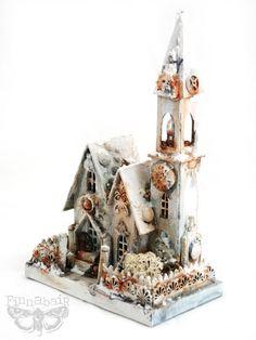 Finnabair: Winter Wonderland Magic - Altered House