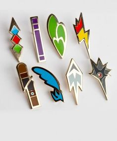 I found 'Set of Fifth Generation Pokemon Gym Badges' on Wish, check it out!