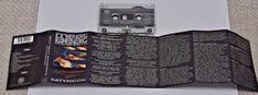 MEAT BEAT MANIFESTO  SATYRICON  1992   VINTAGE Cassette Audio Tape RARE