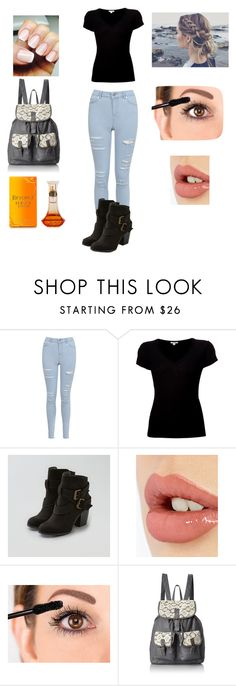 """Untitled #126"" by princessjdw ❤ liked on Polyvore featuring Miss Selfridge, James Perse, American Eagle Outfitters, Charlotte Tilbury and T-shirt & Jeans"