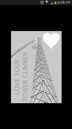 Love your tower climber.