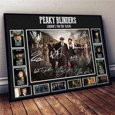 signed peaky blinders photo