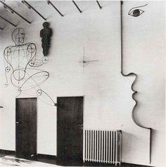 Oskar Schlemmer, House of Dr. Rabe, Zwenkau. 1930-31