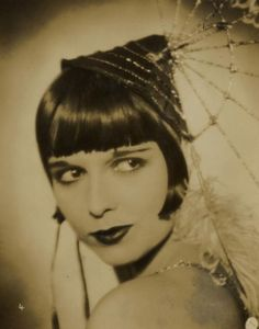 Image detail for -louise brooks 1920s actress silent film vintage happy birthday flapper ...