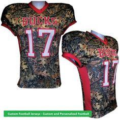 f5f6a80c4 Custom Football Jerseys - Custom and Personalized Football Jerseys.The sport  of football has been