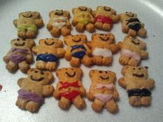 Teddy grahams I used in the swimming pool cake