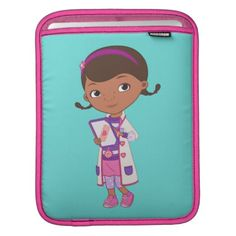 #Doc McStuffins | All Part of my Job iPad Sleeve - #giftideas for #kids #babies #children #gifts #giftidea