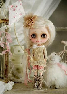 Blythe Doll https://www.facebook.com/pages/Nux-Un-mundo-de-peque%C3%B1as-dimensiones-Miniaturista/254470717952415