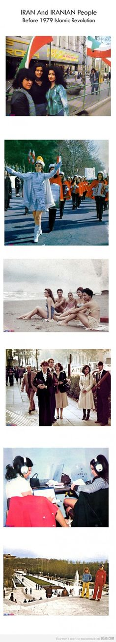 Iran before the islamic revolution! just so you know =P