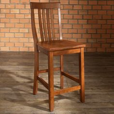 Have to have it. School House 24 in. Counter Stool - Set of 2 - $178 @hayneedle.com