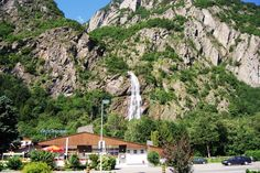 Vernayaz, cascade de Pissevache.
