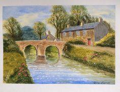 Riverside Cottage - Altarnun. Watercolour. A Terry Harrison tutorial.