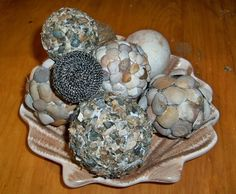 DIY beach decorative balls