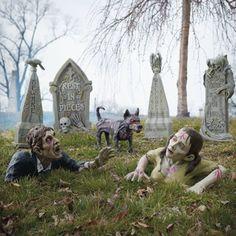 outdoor zombie ground breaker figures httpwwwgrandinroadcom