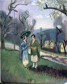 Henri Matisse - Conversation under the Olive Trees 1921