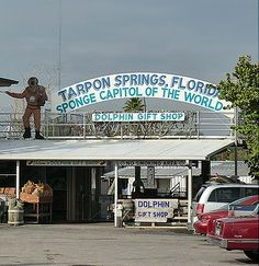 Tarpon Springs sponge docks....visited this interesting place a couple of years ago. The town is great and full of interesting stores along a pier where boats are docked for the sponging market. It is a thriving ,quaint Greek community .Don't miss it if you are in the area.