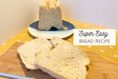 Are you looking for a Super Easy Bread Recipe that's Breadmaker Friendly and pretty much foolproof? Super Easy Bread Recipe, Easy Bread Recipes, Batch Cooking, Cooking Recipes, Master Baker, Easy Homemade Gifts, Frugal Family, How To Make Tea, Daily Bread