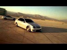 "Fan's Choice: 2012 C63 AMG Coupe Stunt - ""Figure Eight Drift"" HD All Languages, Tv Ads, Tv Commercials, Stunts, World, Youtube, Trucks, Videos, Cutaway"