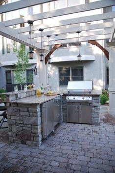 outdoor kitchen kits paver get outdoor kitchen ideas from thousands of pictures learn about layout options sizing planning for appliances cost and more top 45 exceptional outdoor kitchen design ideas laundry room