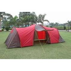 Camping Tent Exterior Decoration, Tent Camping, Outdoor Gear, Ideas, Outdoor Camping, Outdoor Tools, Thoughts