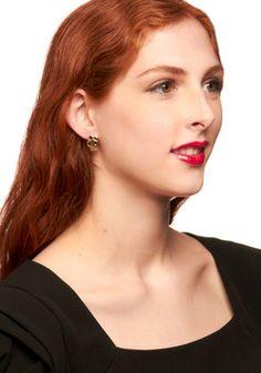 Pretty Macabre Earrings, #ModCloth