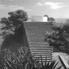 Villa Malaparte, Adalberto Libera. Capri, Italy. 1937.