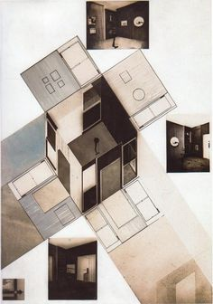El Lissitzky, project for the constructivist art room at the International Art Exhibition in Dresden, 1926