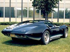 1969 Chevrolet Corvette Manta Ray Concept Car.