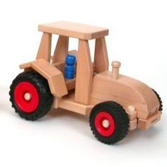 Fagus Wooden Tractor - Made in Germany by Fagus. $52.64