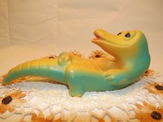 Gaylord Gator Soap Dish Collectible 1960's by OutrageousVintagious