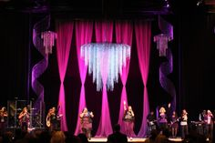 stage design. diy chandelier