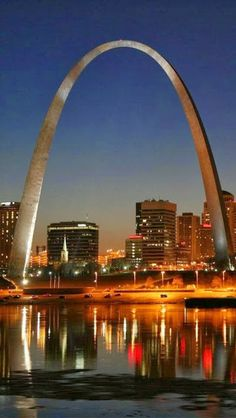 Saint Louis, Missouri.  I love this city.  Facts about the arch...See 30 miles in every direction and 200 years into the past! 200 years ago, Lewis and Clark set out on their great journey. Today, the Gateway Arch stands as the iconic monument symbolizing the westward expansion of the United States. Add this to your bucket list to see the grandeur of this architectural wonder or the breathtaking views of St. Louis 630 ft. in the air.  <3