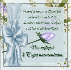 přání k narozeninám Congratulations, Place Cards, Place Card Holders, Humor, Birthday, Quotes, Cute, Quotations, Birthdays