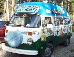 Winnie the Pooh VW Van Front...hey Steph...what do ya think?
