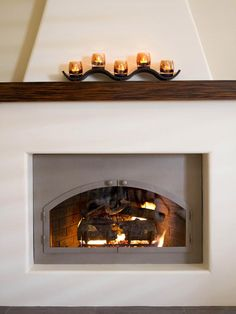 1000 images about fireplaces on pinterest santa fe for Southwestern fireplaces