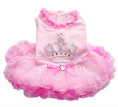 Bella Party Dress for Dogs - adorable tutu! Available @ http://doggyinwonderland.com/item_1679/Bella-Party-Dress-for-Dogs--adorable-tutu.htm