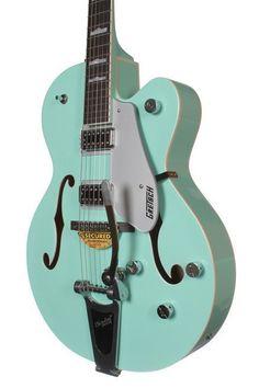 Gretsch Limited Edition G5420T Hollow Body Electric Guitar - Surf Green #GretschGuitars