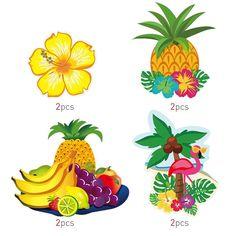 Aloha Party Hawaiian Decorations Hanging Swirls For Luau Party Favor 30 Pack NEW #BESTOMZ #LuauBeachParty