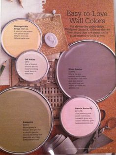 Easy-to-love wall colors