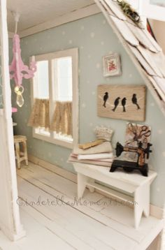 Cinderella Moments: Wiltshire Cottage Dollhouse